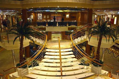 interno nave da crociera interno su una nave da crociera fotografia editoriale