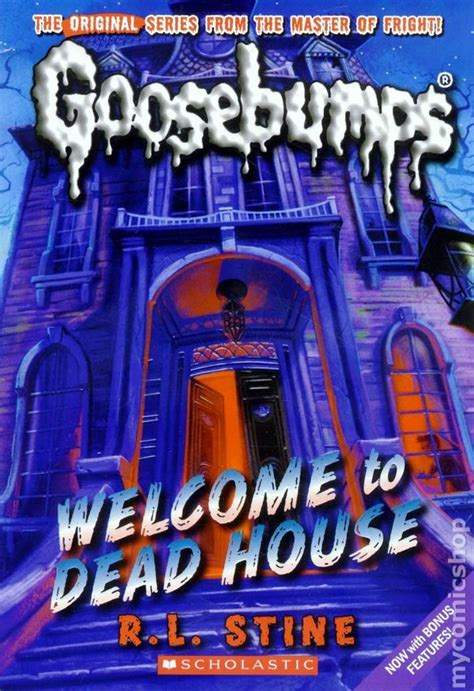 goosebumps welcome to dead house comic books in classic goosebumps