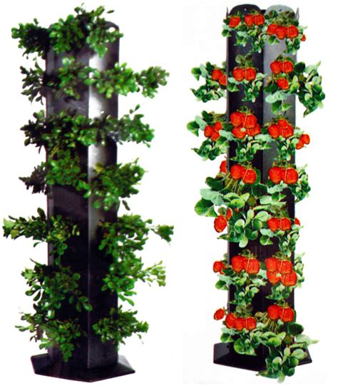Flower Tower Freestanding Planter by Tower Garden Deals On 1001 Blocks
