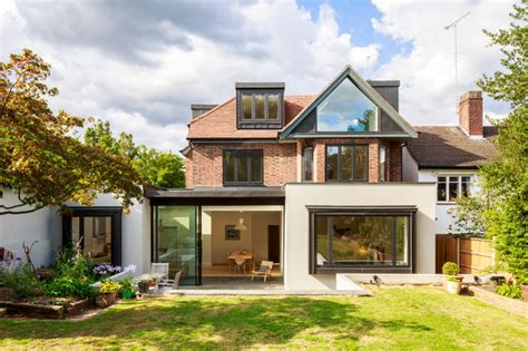 house beautiful uk muswell hill house scandinavian exterior by