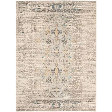 Safavieh Monaco Grey Multi 8 Ft X 11 Ft Area Rug Mnc209g 8 Foot Area Rugs