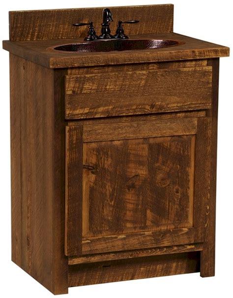 Sawmill Furniture by Circle Sawn Sawmill Rustic Vanity The Log Furniture Store