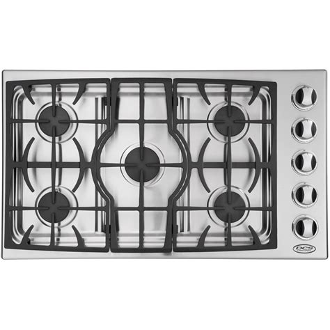 Dcs Cooktop Dcs Cooktops 36 Inch Gas Drop In Cooktop By Fisher