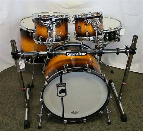 Snare Rack by Mapex Black Panther Velvetone Drum Set With Snare Reverb