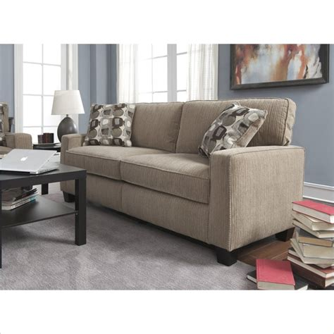 Serta Sectional Sofa Serta By True Innovations Santa Sofa Cr43534pb Serta At Home