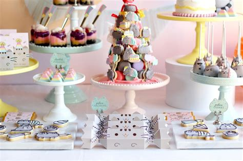 PUSHEEN BIRTHDAY PAWTY   Oh It's Perfect