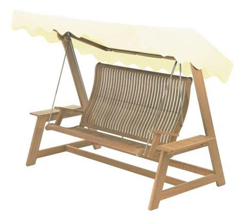 teak swing seat teak bengal garden swing seat with canopy 163 1 336 99