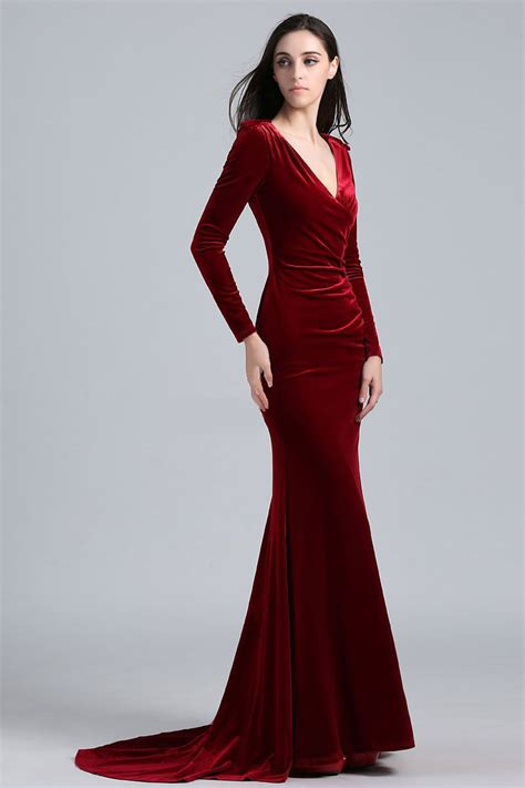 Longdress Velvet khlo 233 burgundy velvet evening dress elton s oscars thecelebritydresses