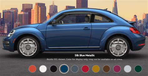 volkswagen beetle colors 2017 2017 volkswagen beetle exterior color options