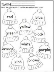 color words worksheet 25 best ideas about color words kindergarten on