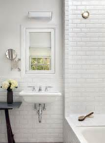Tiled Bathroom Walls by Metro Bevel Brick White 10x20 Cm Wall Tile Blanco Biselado