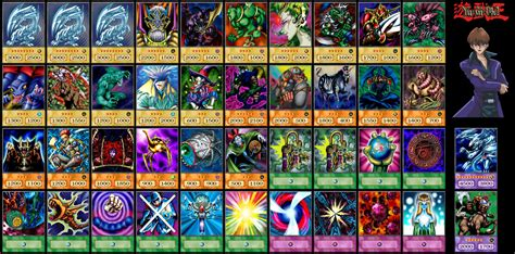 yugioh yugis deck 28 yugi muto duelist kingdom deck seto kaiba