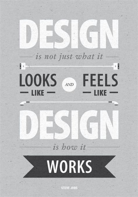 Design Is Not How It Looks | steve jobs quotes design is not just what it looks like