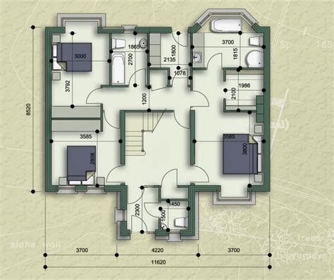 new home floor plans duplex new house plans and elevation view