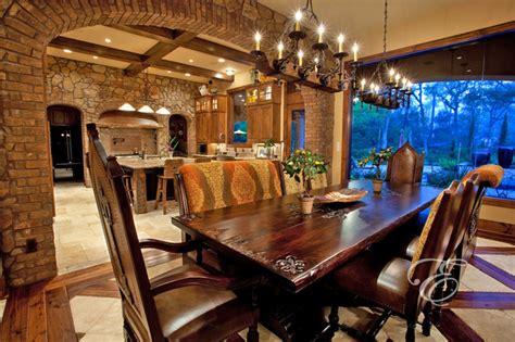 upscale tuscan mediterranean dining room houston