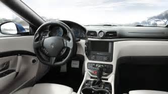 Maserati Granturismo Convertible Interior Granturismo