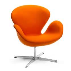 Nest Swivel Chair Tangerine Orange Buy Seating