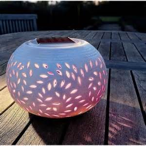 Solar Patio Table Lights Spv Solar Powered Colour Changing Filigree Table Light