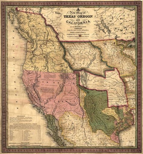 1800 texas map apush wiki marlborough school polk and western expansion of the 1800s