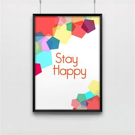 post it sur le bureau affiche de bureau stay poster de bureau kollori com