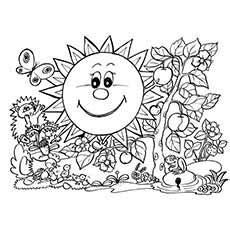 spring coloring pages for middle school coloring book pages for spring coloring page