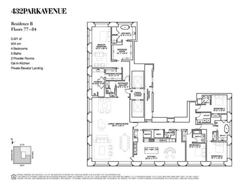 floor plan from 432 park avenue apartment therapy 28 best apartment building plan images on pinterest