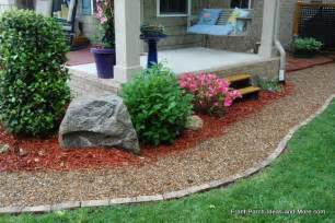 Curb Appeal Concrete Edging - front lawn landscaping ideas front yard landscaping ideas front porch landscaping