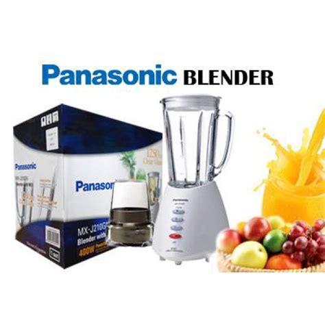 Blender Panasonic Glass Mx 101 1 L panasonic mx j210gn blender with mill 110220volts