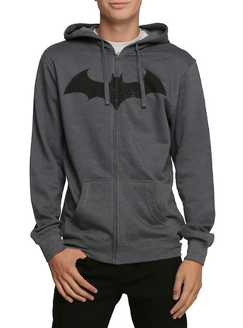 Jaket Zipper Hoddie Sweater Dc Logo dc comics batman hush logo zip hoodie topic