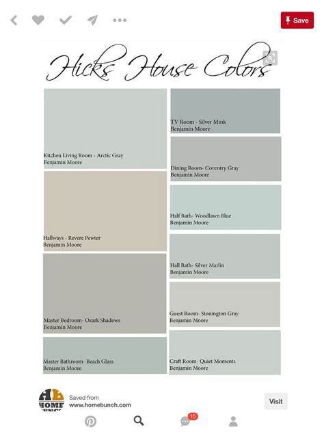 pin  bonnie thompson  home house color schemes