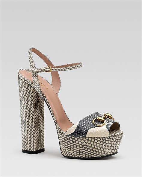 New Arrival Gucci High Heel Shoes 9320 3 Sepatu Wanita gucci claudie ankle chunky high heel sandal