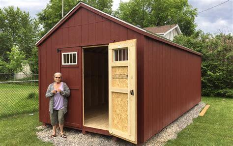 cottage prefab garden sheds north country sheds