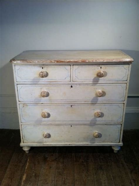 Painting Chest Of Drawers White by A Painted Pine Chest Of Drawers C 1880 With The