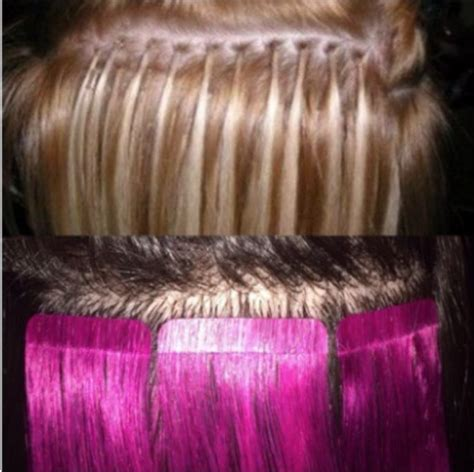 hair extensions for thin hair in salt and pepper link by link all that damge no more learn about the new
