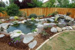Landscaped Backyard Ideas Garden Design Ideas Preserve Backyards Ideas Landscape An Easy Task To Commence