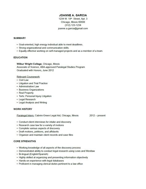 Sle Paralegal Resume With No Experience paralegal resume sle 28 images support worker resume