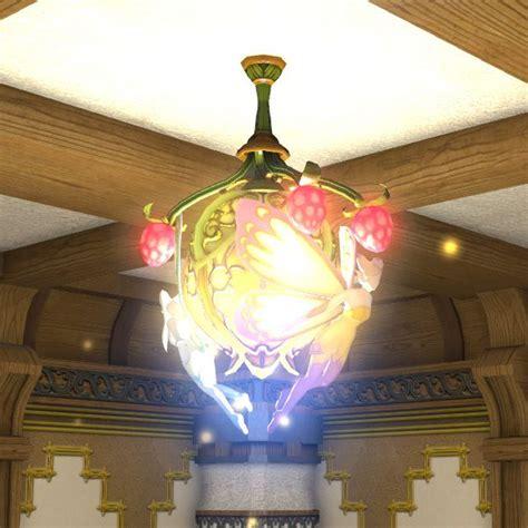 Outdoor Bed faerie chandelier ffxiv housing interior