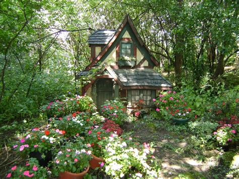 cottage flower cottage in the woods nature flowers hd