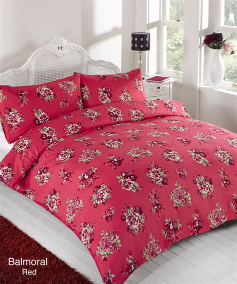 red comforter cover duvet quilt cover bedding set red single double king