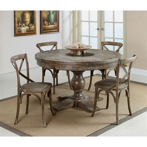Distressed Dining Table And Chairs Utopia Dining Table With Utopia Chairs Distressed Charcoal