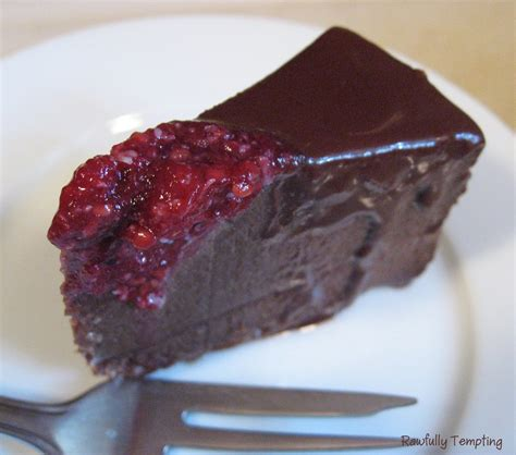 chocolate raspberry creamy chocolate raspberry mousse cake rawfully tempting