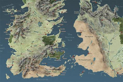 got map interactive of thrones map will make you an expert on westeros polygon