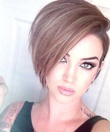 haircuts longer on sides than back 20 collection of short haircuts with one side longer than