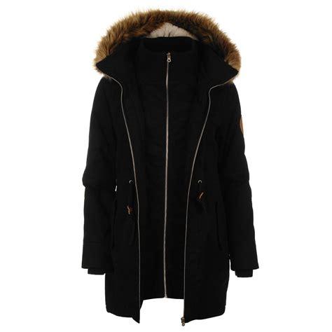 Layer Parka Jacket soulcal doube layer parka coats and jackets
