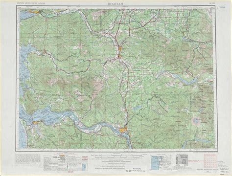 usgs maps hoquiam topographic maps wa or usgs topo 46122a1 at 1 250 000 scale