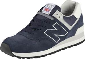 new balance ml574 shoes blue grey