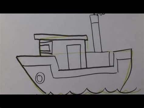 cartoon boat youtube how to design a cartoon boat youtube
