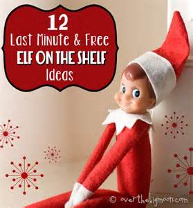 12 last minute and free on the shelf ideas the