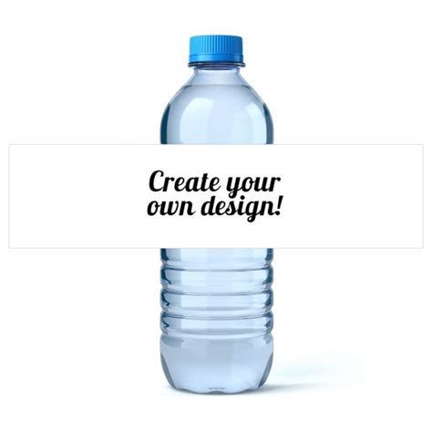 personalized water bottle label template custom water bottle labels icustomlabel bdays