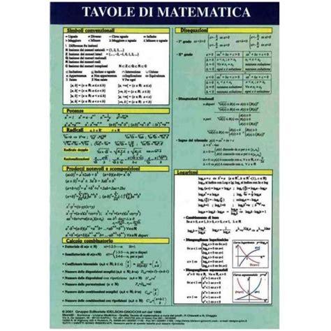 tavole di matematica tavole di matematica